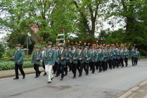 Schützenfest 2014: Die II. Kompanie